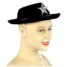 SOMBRERO SHERIFF C/ESTR NIÑO