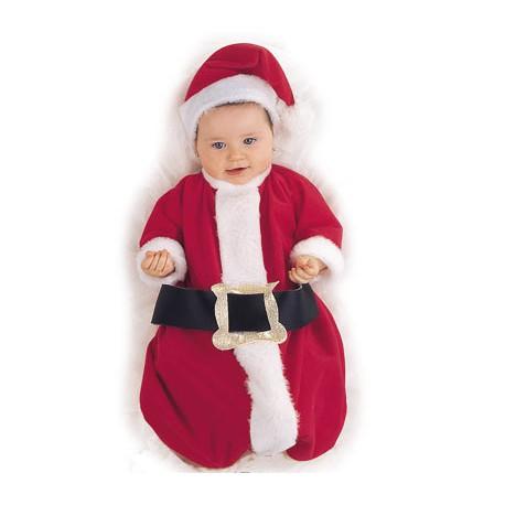 Disfraz De Papa Noel Bebe 0 6 Meses - Bebes-vestidos-de-papa-noel