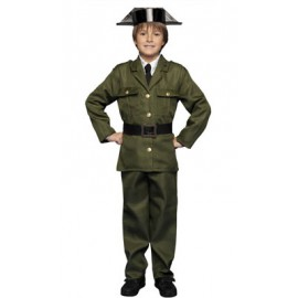 DISFRAZ DE GUARDIA CIVIL NIÑO 7-9