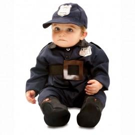 DISFRAZ DE POLICIA BEBE 7-12 MESES