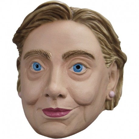 CARETA HILLARY CLINTON LATEX COMPLETA