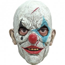 CARETA CLOWN CREEPY CARNEVIL TRAS HEAD