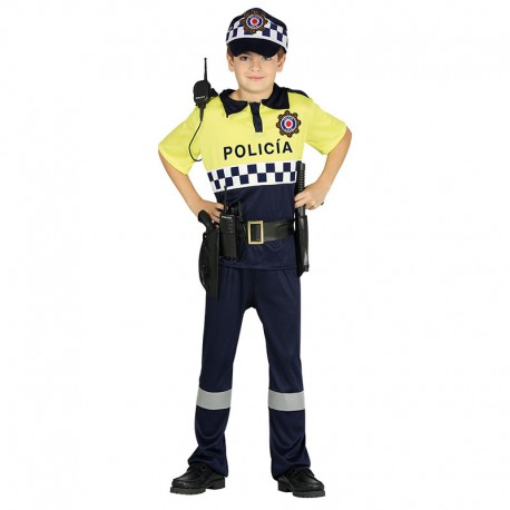 DISFRAZ DE POLICIA LOCAL 3-4 AÑOS