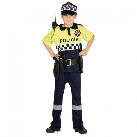 DISFRAZ DE POLICIA LOCAL 7-9 AÑOS
