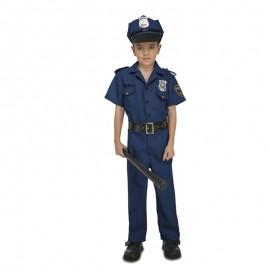 DISFRAZ DE POLICIA NIÑO 7-9 AÑOS