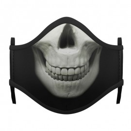 MASCARILLA SKELETON HALLOWEEN ADULTO