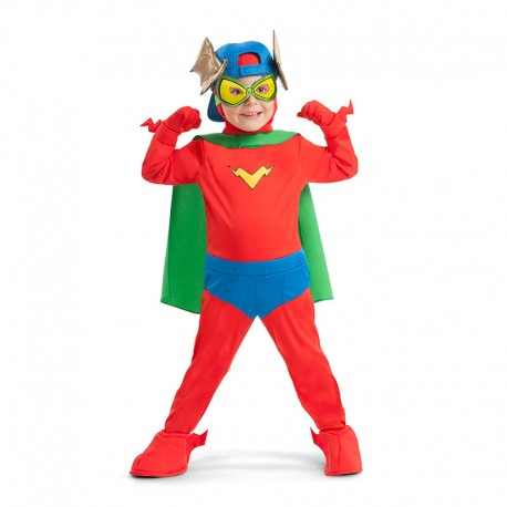 DISFRAZ DE SUPERTHINGS KID FURY 4-5 AÑOS