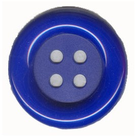 BOTON PAYASO GRDE. 70 MM AZUL