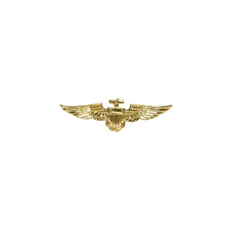 CONDECORACION AVIADOR PIN ORO
