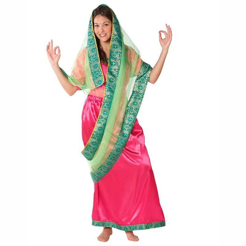 Disfraz de hindu adulto mujer - Disfraz casero mosquetero ...